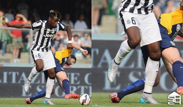 Pogba (Juventus) - Nike Magista Obra Silver Storm Pack Custom