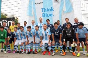 Presentazione maglie Monaco 1860 stagione 2015-16