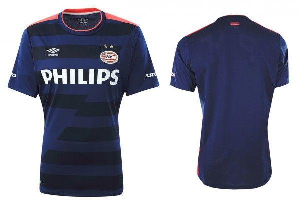 Seconda maglia PSV Eindhoven 2015-16