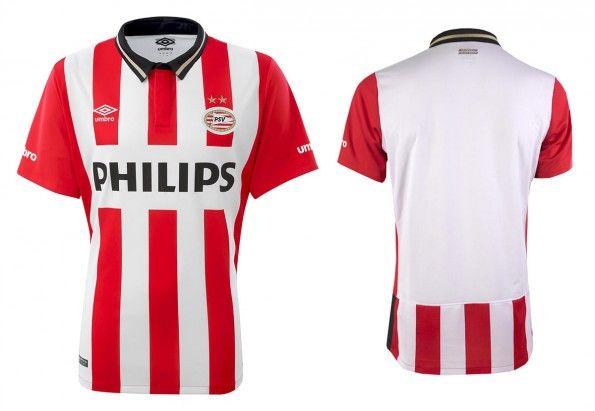 Prima maglia PSV Eindhoven 2015-16 Umbro
