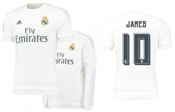 Maglia Real Madrid 2015-2016 home