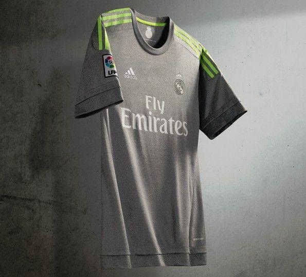 Maglia Real Madrid away grigia 2015-16