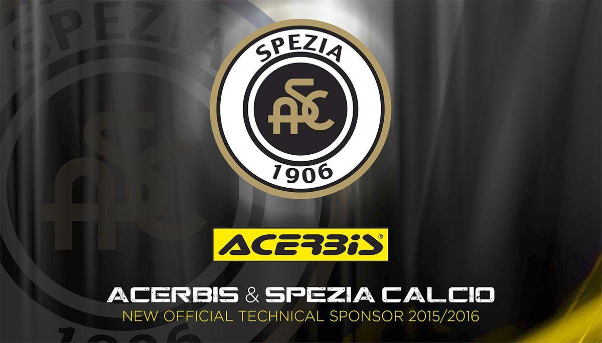 Acerbis sponsor tecnico Spezia