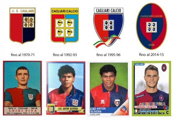 Storia stemma Cagliari Calcio