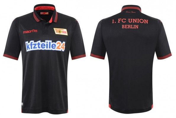 Seconda maglia Union Berlin 2015-2016