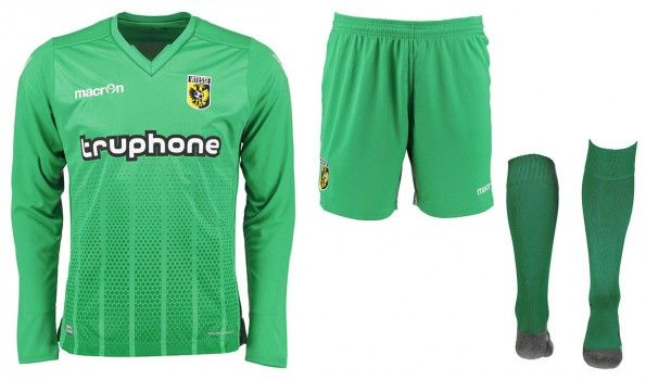 Maglia portiere Vitesse verde 2015-16