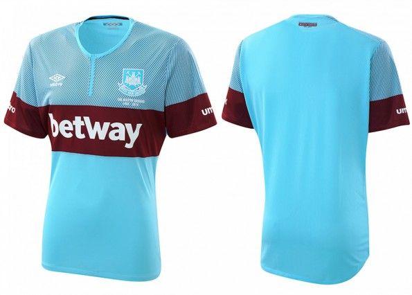 Seconda maglia West Ham 2015-16