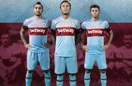 Divisa West Ham da trasferta 2015-16