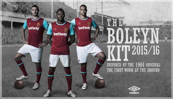 Kit West Ham 2015-2016 Umbro