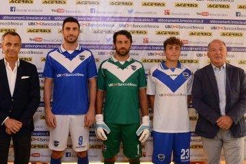 Presentazione maglie Brescia 2015-2016 Acerbis