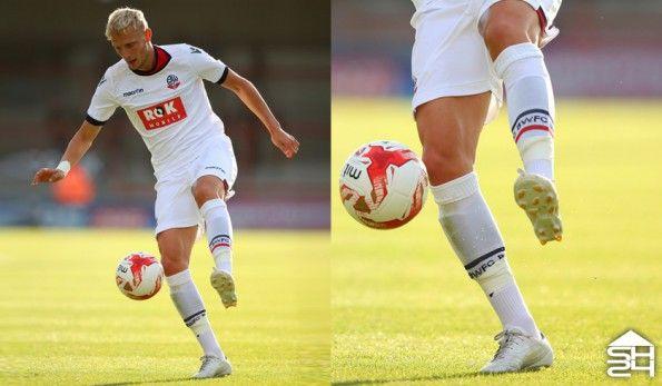 Dean Moxey (Bolton) - adidas adizero IV whiteout