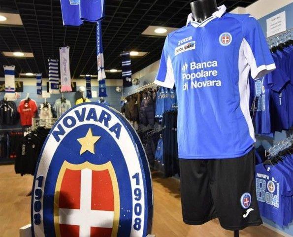 Novara maglia 2015-2016 azzurra