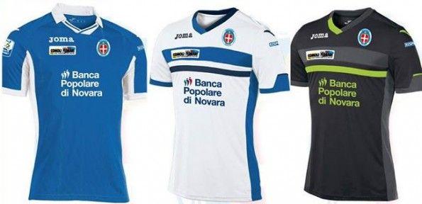 Maglie Novara 2015-2016 Joma