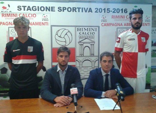 Rimini, presentazione maglie Lotto 2015-16