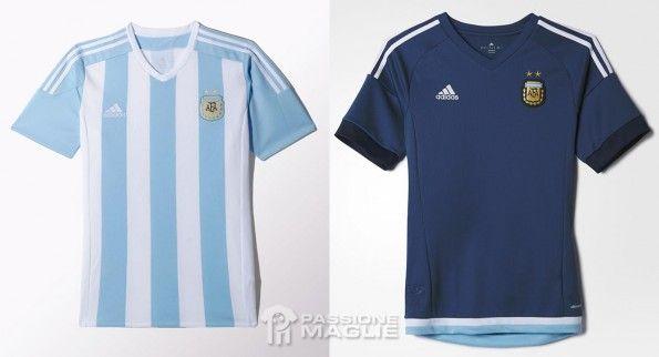 Maglie Argentina Copa America 2015 adidas