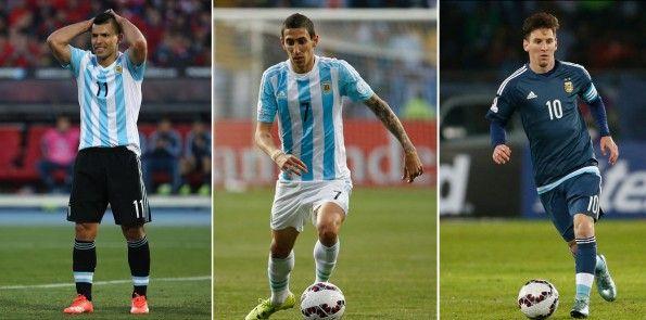 Kit Argentina nella Coppa America 2015