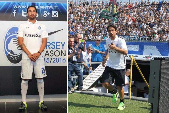 Seconda maglia Atalanta 2015-2016 bianca