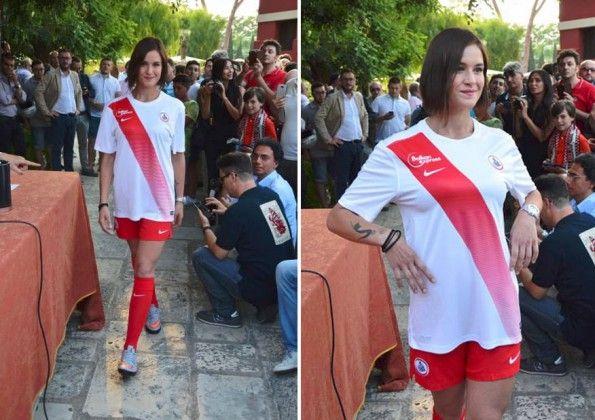Seconda maglia Bari 2015-16 bianca