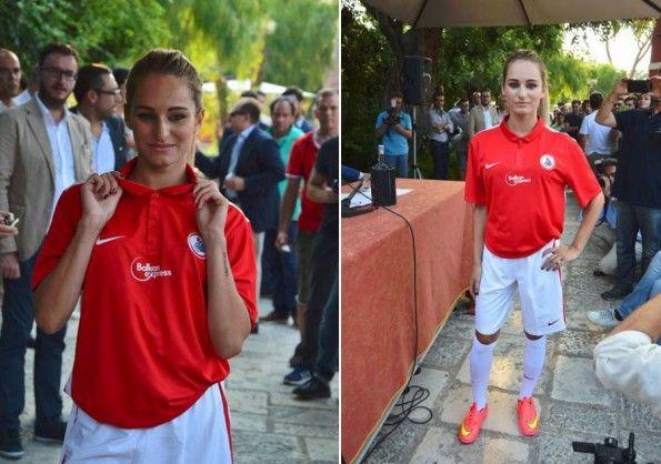 Maglia Bari 2015-2016 Nike rossa
