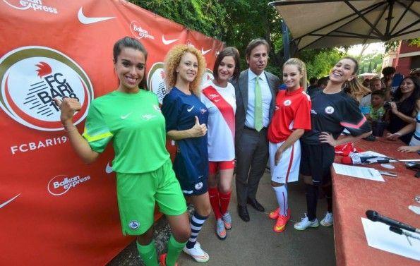 Presentazione maglie Bari 2015-2016 Nike