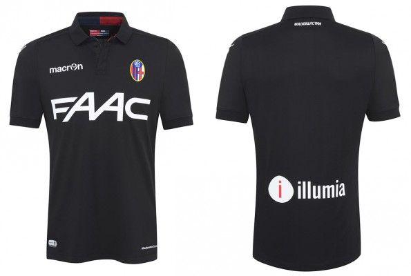 Terza maglia Bologna 2015-2016 nera