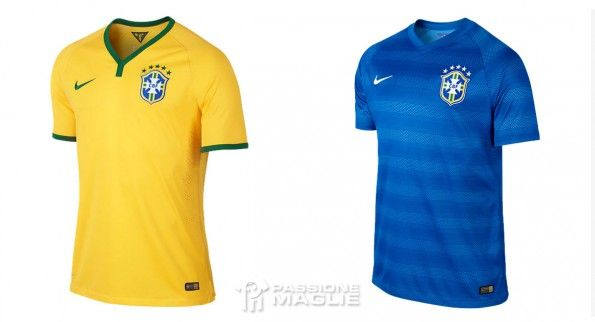 Maglie Brasile Copa America 2015