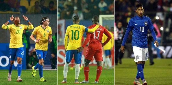 Neymar, Robinho, il Brasile in Coppa America