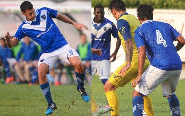 Prima divisa Brescia 2015-2016