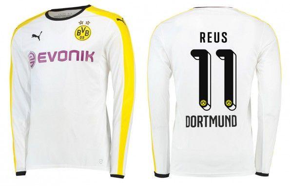 Terza maglia Borussia Dortmund 2015-16 maniche lunghe