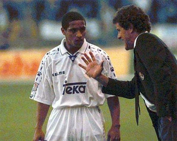 Roberto Carlos con Fabio Capello