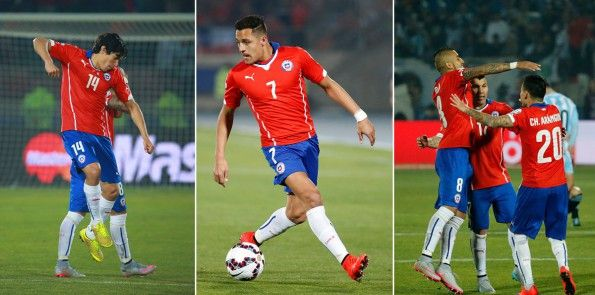 Il Cile nella Copa America 2015