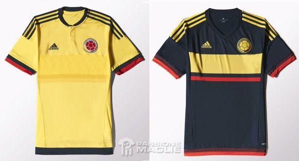 Maglie Colombia Copa America 2015