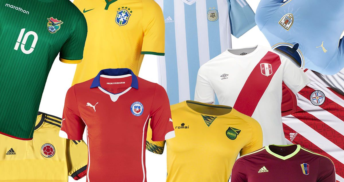 Maglie Copa America 2015