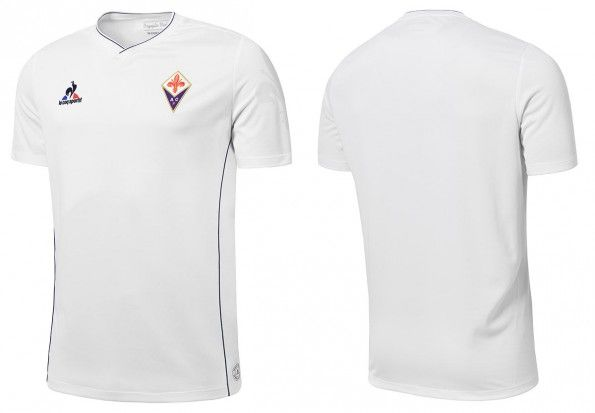 Seconda maglia Fiorentina 2015-2016 bianca