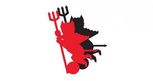 Foggia, logo Satanelli originale di Savino Russo