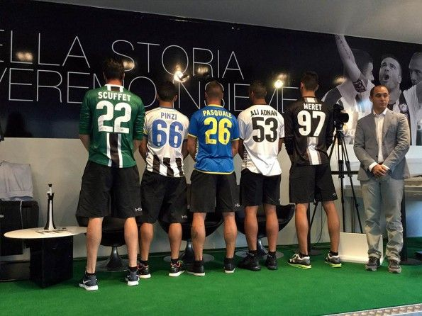 Font numeri nomi Udinese 2015-2016