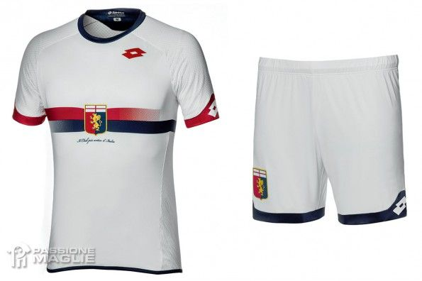 Seconda maglia Genoa 2015-2016 bianca