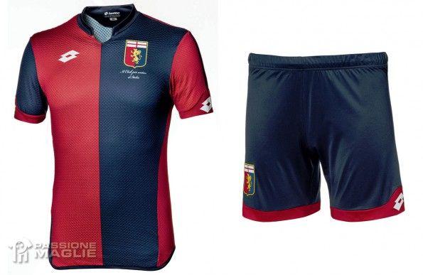 Maglia Genoa rossoblù 2015-2016