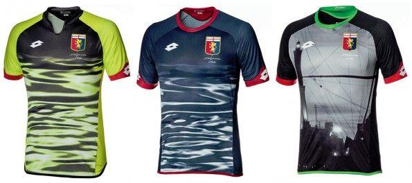 Maglie da portiere Genoa 2015-16