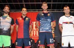 Presentazione divise Genoa 2015-2016