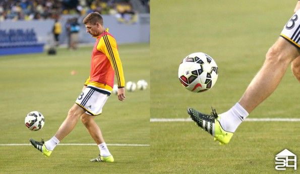 Steven Gerrard (Los Angeles Galaxy) - adidas ACE 15.1