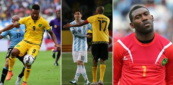 Kit Jamaica Copa America 2015