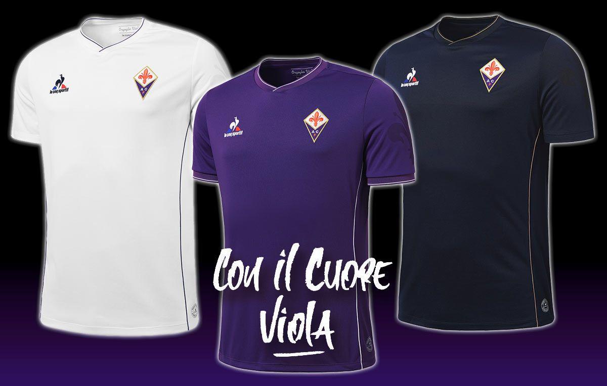 Kit Fiorentina 2015-2016 Le Coq Sportif
