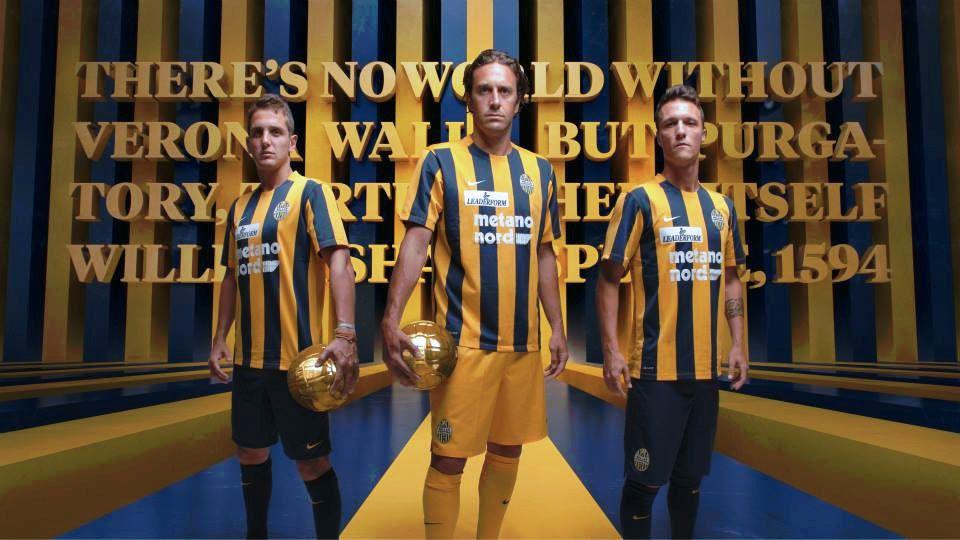 Presentazione prima maglia Hellas Verona 2015-2016