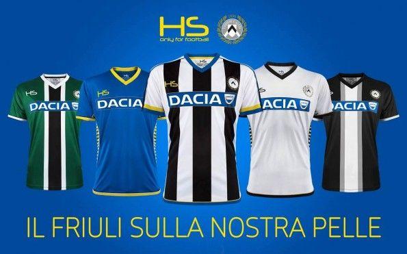 Kit Udinese 2015-2016 Hs Football