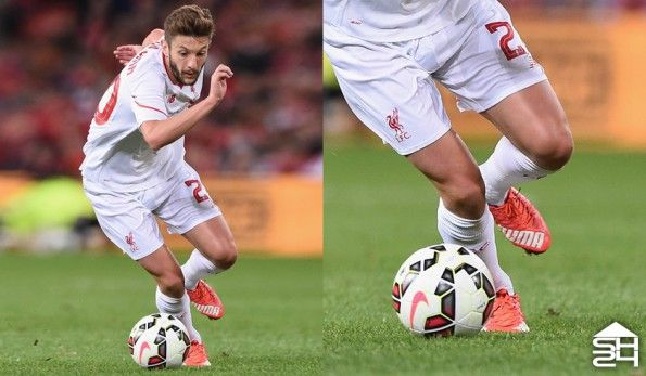 Adam Lallana (Liverpool) - Puma evoSPEED 1.4 SL