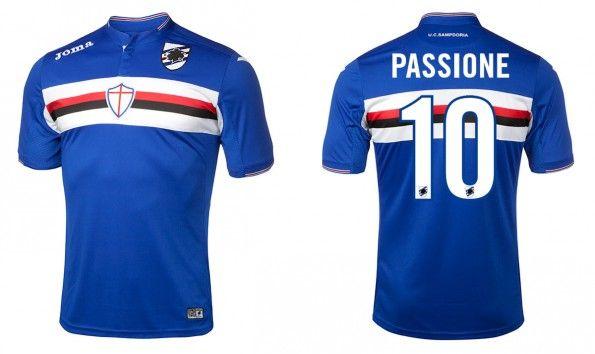 Maglia Sampdoria 2015-2016 home