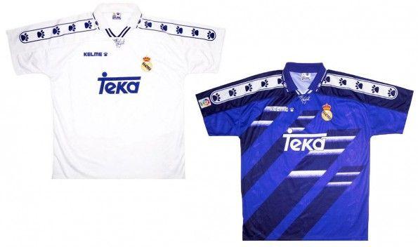 Maglie Real Madrid 1994-1995 Kelme
