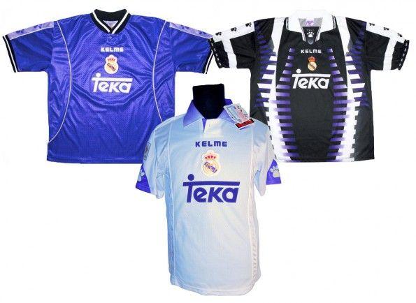 Maglie Real Madrid 1997-1998