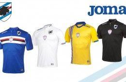 Maglie Sampdoria 2015-2016 Joma